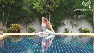Yoga для обычных женщин -  видео урок понедельник