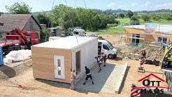 SMART LIVING  - Platzsparende Wohncontainer von OTT-Haus