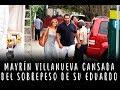 Mayrín Villanueva CANSADA del SOBREPESO de su esposo Eduardo Santamarina