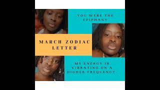 March Zodiac Letter