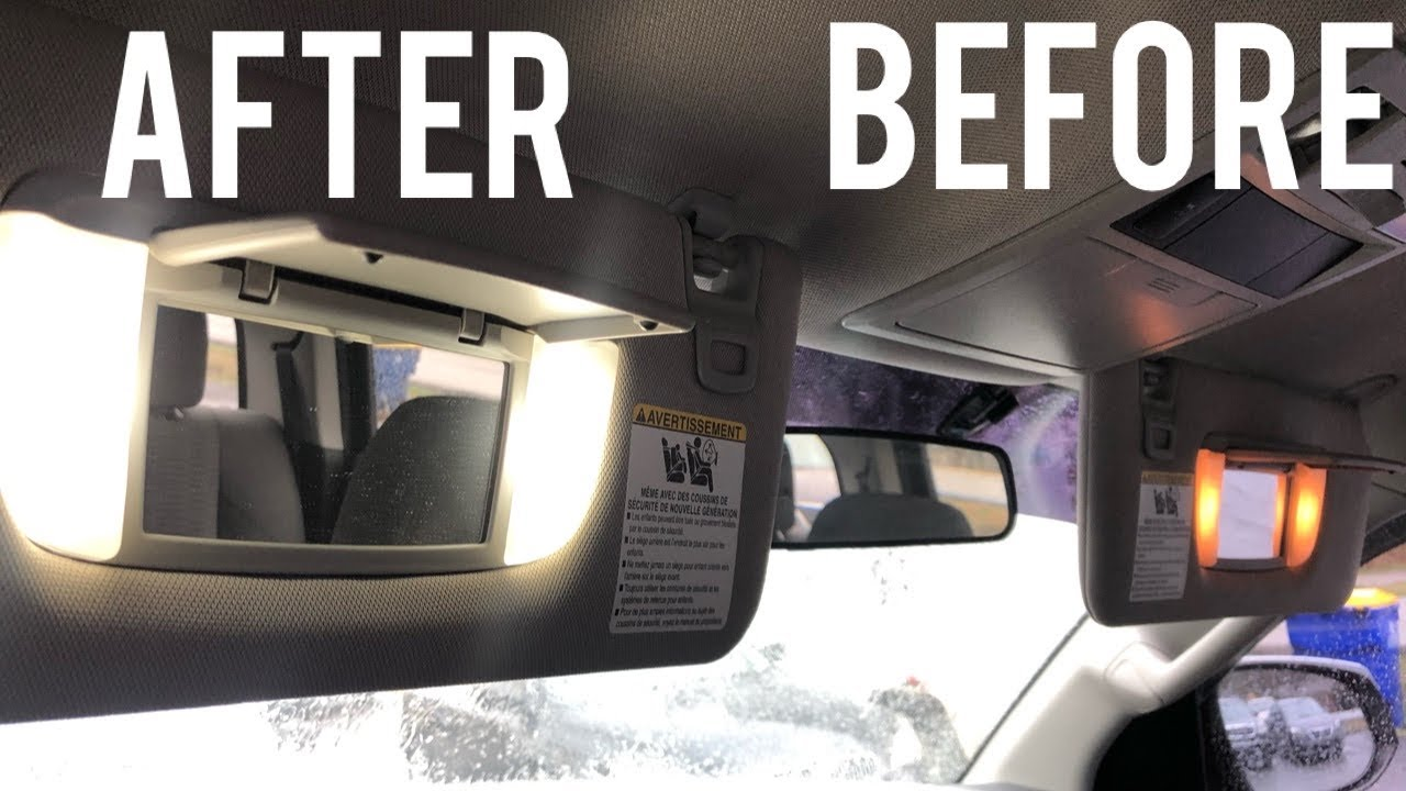 Toyota Tacoma Interior Light Replacement!