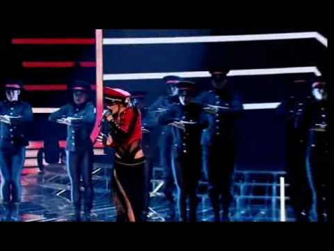 Cheryl Cole - Fight For This Love on X Factor Live  HQ + Lyrics