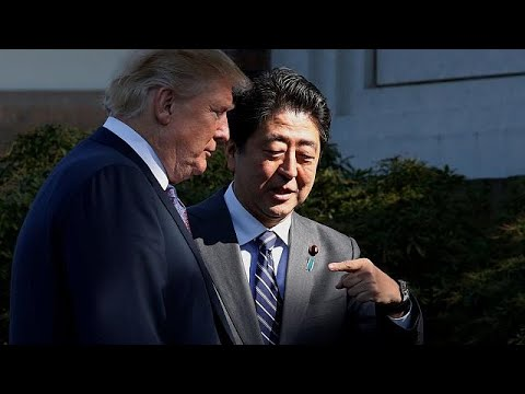 Trump arrives in Japan for Asian tour