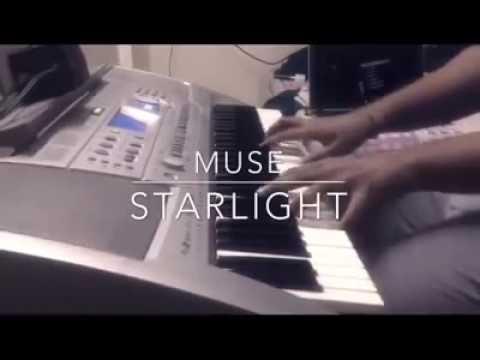 Muse Starlight On Piano C Maj Key Youtube