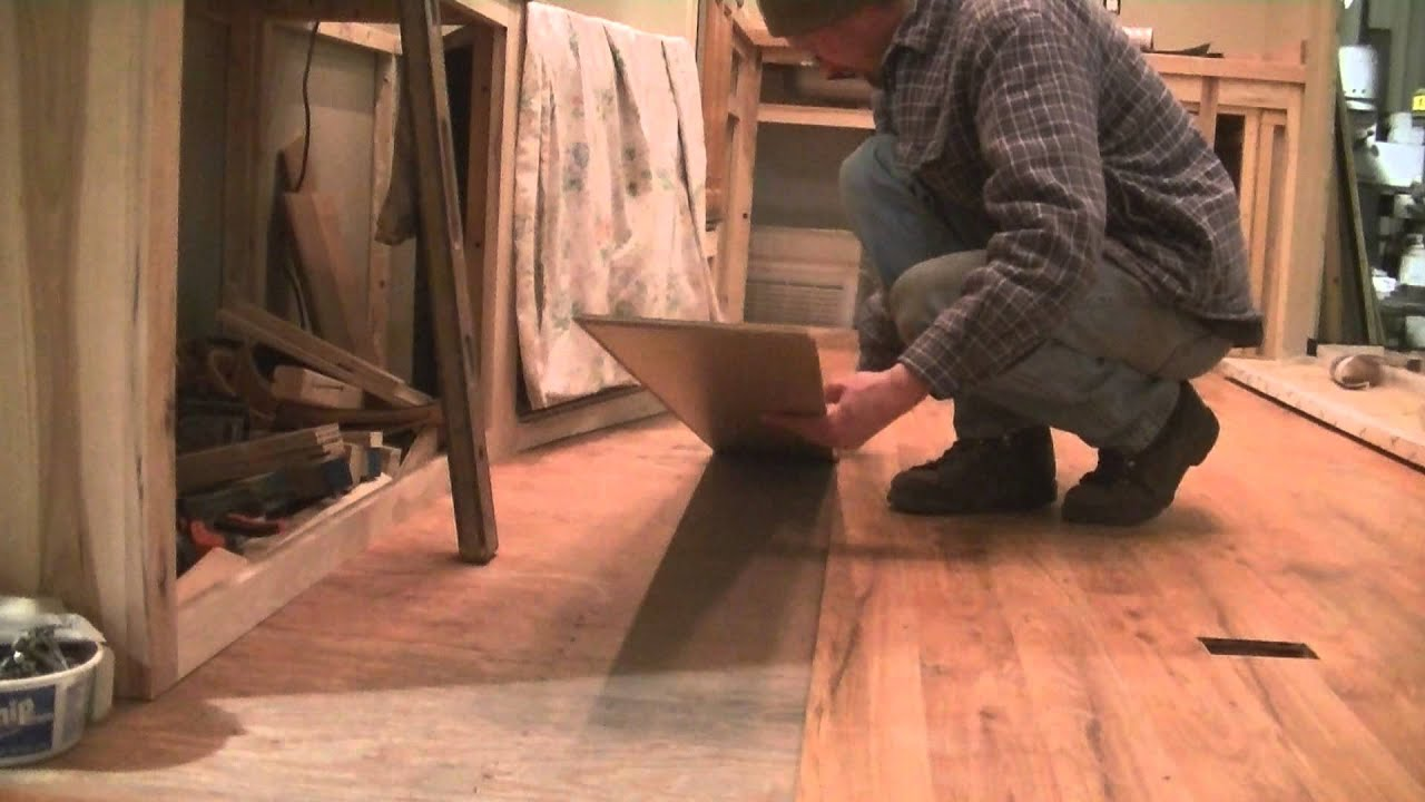 5th Wheel Camper Project New Floor Youtube