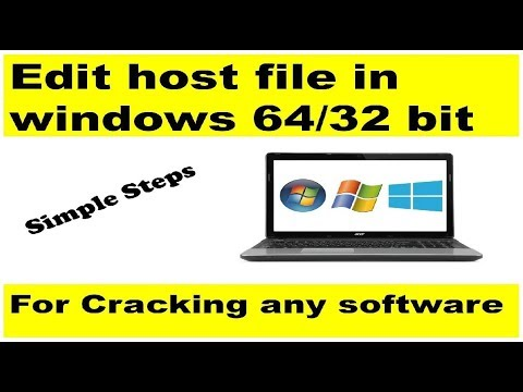 How To Edit Host File In Windows 7 64bit OS