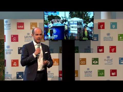 Disrupting Global Hunger - SDGActionTalk by Bernhard Kowatsch