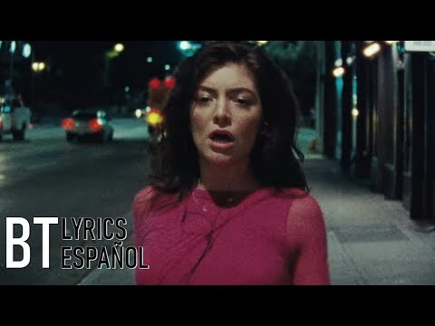 Lorde - Green Light (Lyrics + Español) Video Official