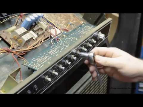 Scratchy Knobs? How To Clean Amplifier Pots with Contact Cleaner Video  ✔