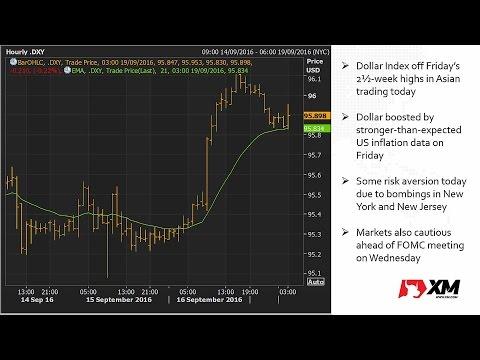 Forex News: 19/09/2016 - Caution ahead of Fed and BoJ meetings