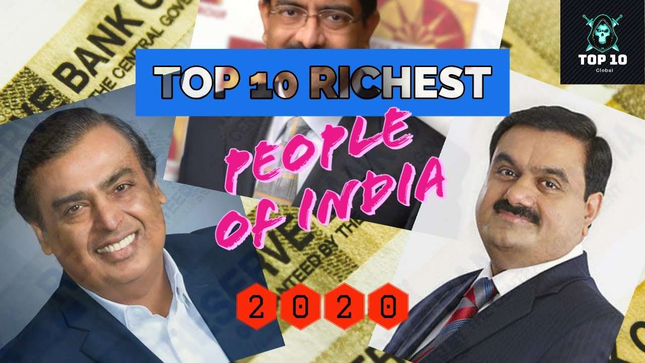 Top 10 RICHEST People of India (2020)