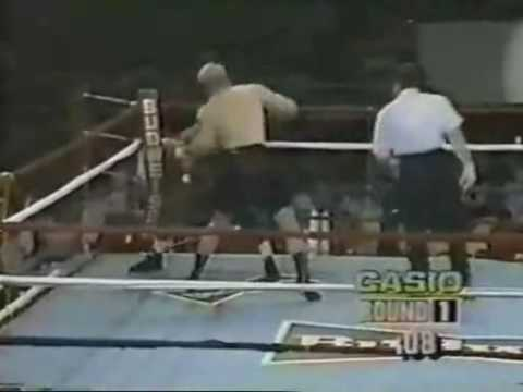 Tommy Morrison vs Mike Robinson