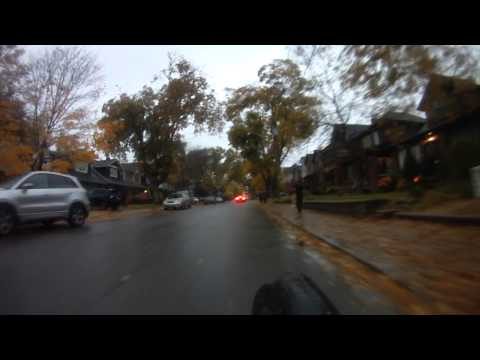 My Daily Bicycle Commute - Toronto - October 2014