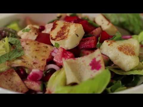 Halloumi Salad Recipe by Will Studd