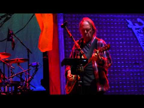 Neil Young, Crazy Horse - Born In Ontario - Madison Square Garden, New York NY US - center rail HD