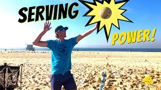 Volleyball Serving | IMPORTANT TIPS to Make Your Overhand Serve More POWERFUL!