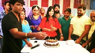 shubhi Sharma Birthday Pictures | Khesari Lal Yadav, Kajal Raghwani