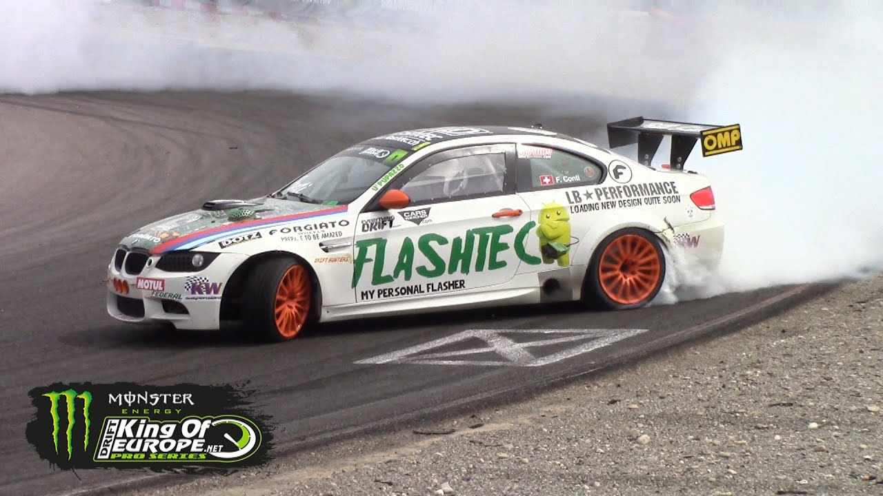 Supercharged Bmw M3 E92 Gt4 Drifting At King Of Europe Youtube
