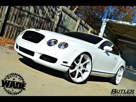 Butler Wheels & Tire: 24's On Bentley GT Coupe