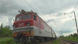 VL10-1454 ''XK Lokomotiv'' yuk poezd bilan elektr lokomotiv