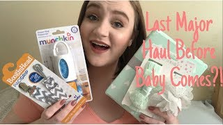 LAST MAJOR HAUL Before Baby Comes! Diaper Bag, Nursing Pillow + MORE