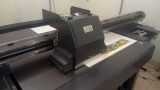 Impressora Max Print UV - FLATBED - instalada em São Paulo