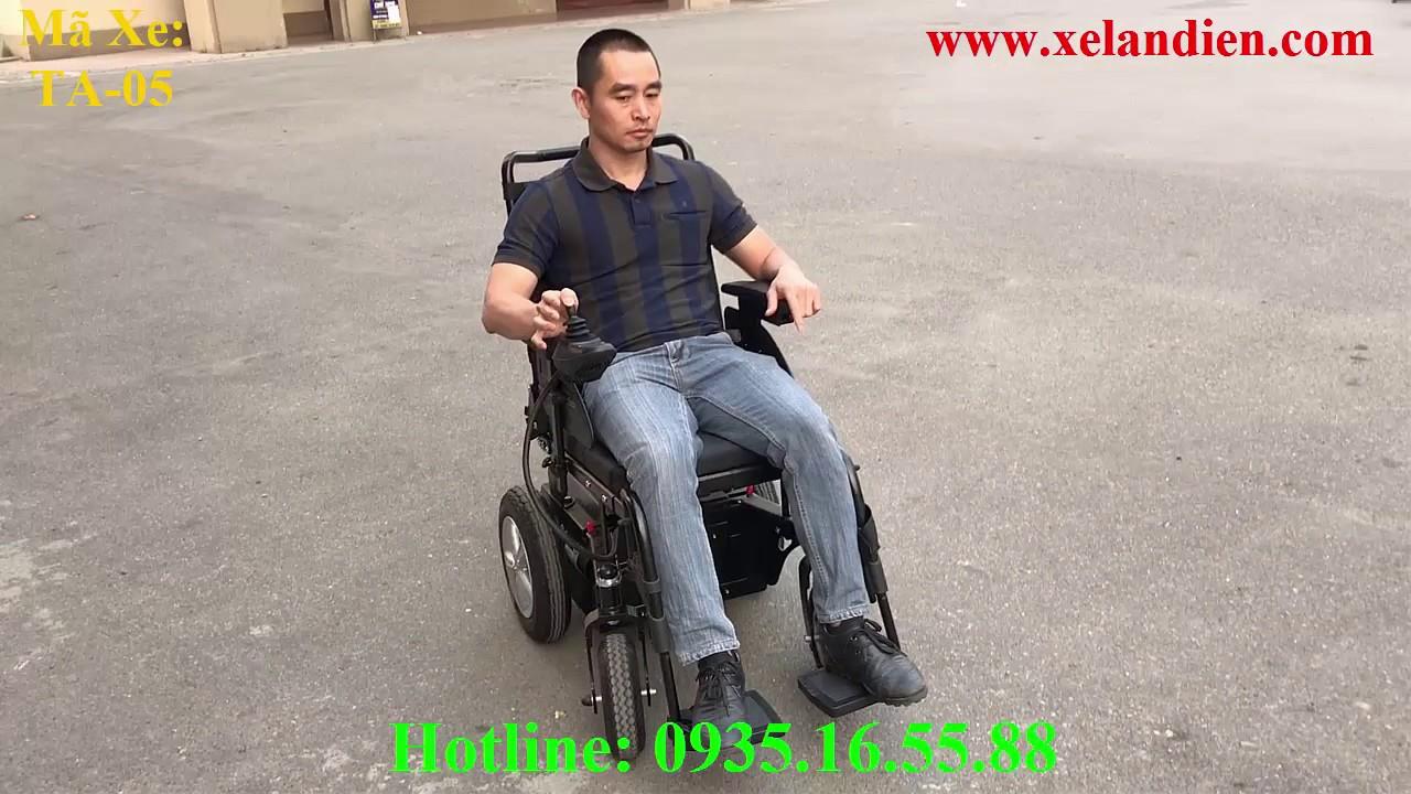Xe Lăn Điện Thiên An TA-05 Cao Cấp Giá Rẻ