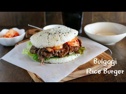 Bulgogi Rice Burger (불고기 라이스 버거)