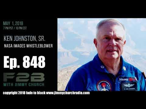 Ep. 848 FADE to BLACK Jimmy Church w/ Ken Johnston, Bret Sheppard : NASA Image Whistleblower : LIVE