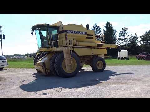 1996 New Holland, model TR98, Combine | For Sale | Online Auction