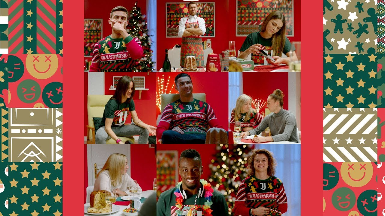Juventus Buon Natale.Juventus Christmas Video Has Arrived Christmash Up 2019 Youtube