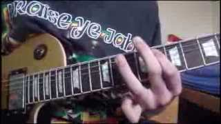 Aeromancy Main Riff Guitar Lesson - Dorje - Free Guitar Lesson - How To Play - Alex O'Connor