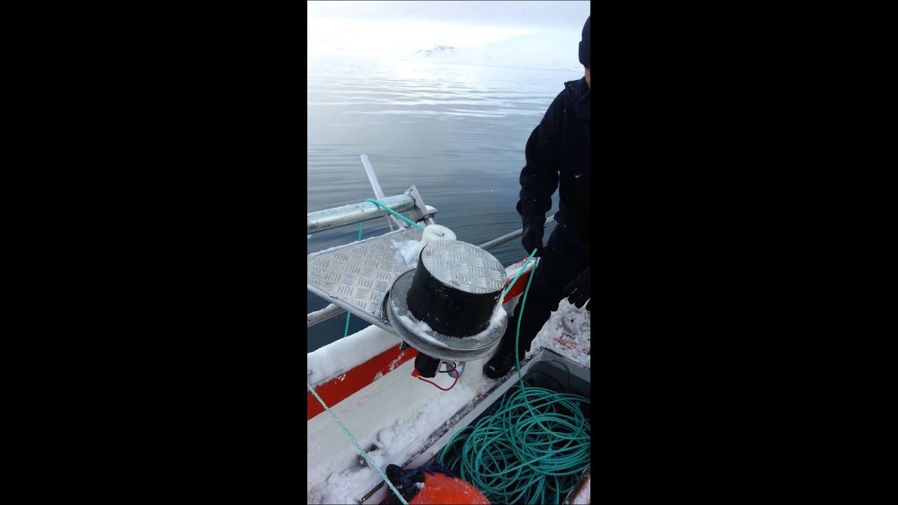 Homemade Pot - puller or linehaler. Greenland - YouTube