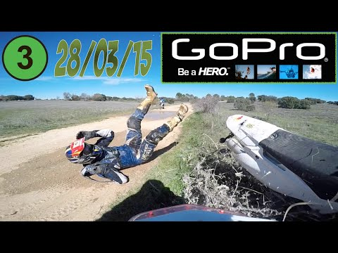 EXTREME ENDURO BIG CRASH (POV). GOPRO HERO 4. DIFERENT VIEWS. 4K