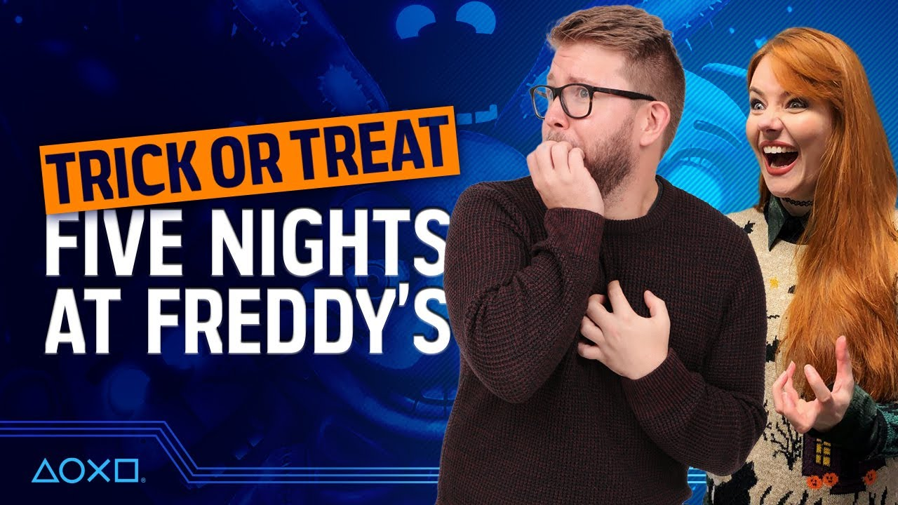 Trick or Treat HALLOWEEN FINALE - Dave Spends Five Nights at Freddy's!