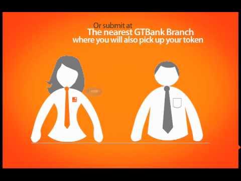 How To Get Your Token: GTBank DIY Series