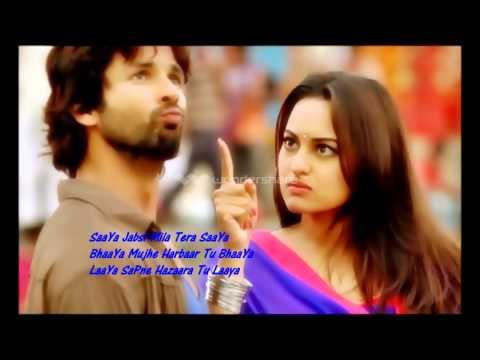 Saree Ke fall Sa(Lyris)R.ar-Shahid/Sonakshu