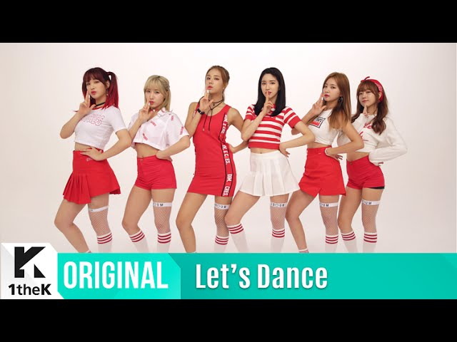 Let's Dance: LABOUM(라붐)_the Short Achille's Tendon?_Shooting Love(푱푱) #1