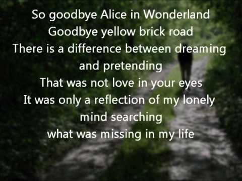 Jewel goodbye..alice in wonderland.wmv