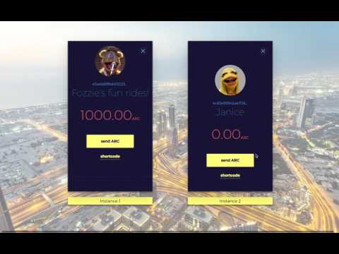 Arcade City ride sharing app demo - 10/28 update