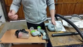 Инерционно-вакуумный фильтр или один мешок для пылесоса на год.