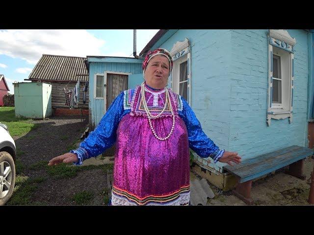 Village Babushka Dances For Englishman In Russia