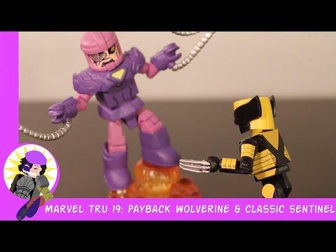 Minimates Marvel Toys R Us Wave 19 Payback Wolverine And Sentinel Rev