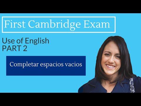 FCE Exam: USE OF ENGLISH - Part 2 (open cloze)