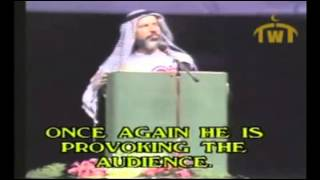 Ahmed Deedat Debate - Anis Shorrosh tells the audience