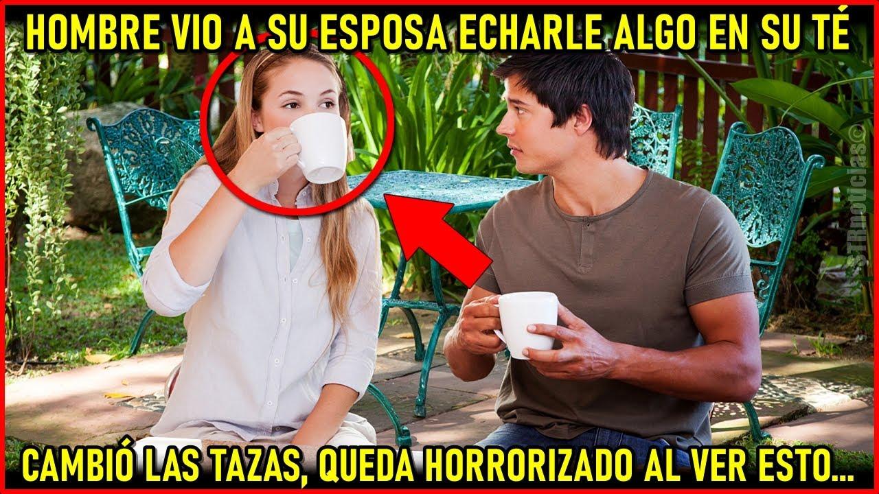 Mujer vertió algo en el té de su marido, él cambió las tazas y queda horrorizado por lo que pasó.