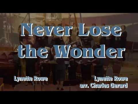 Never Lose the Wonder