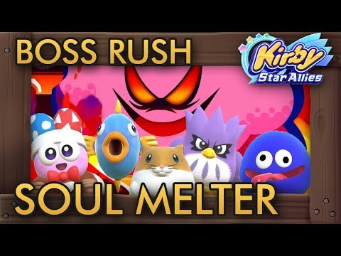 Kirby Star Allies - Soul Melter with Marx, Gooey, Rick, Kine & Coo (Ultimate Choice)