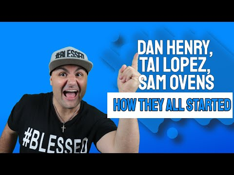 Dan Henry, Tai Lopez, Sam Ovens