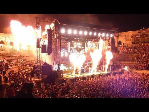 Rammstein live aux Arènes de Nîmes le 11 Juillet 2017